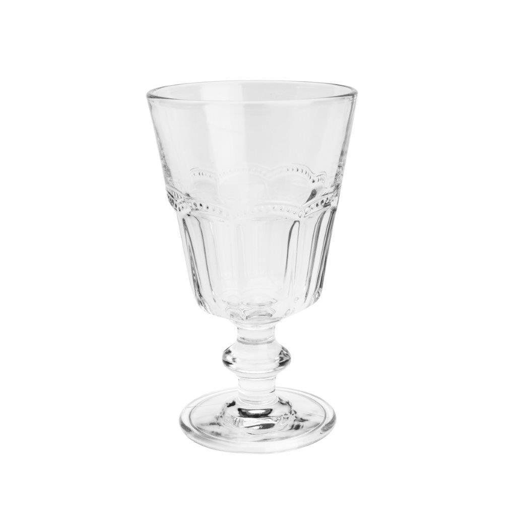 Conjunto 6 Taças Para Água De Vidro Belle Epoque 225 Ml - Lyor