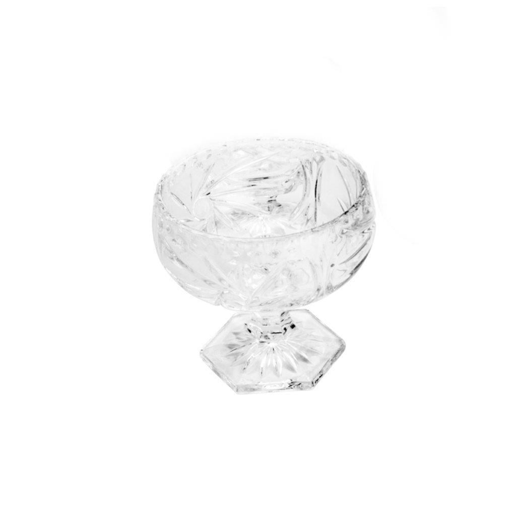 Conjunto 6 Taças Sobremesa Com Pé Prima Luxo - Lyor