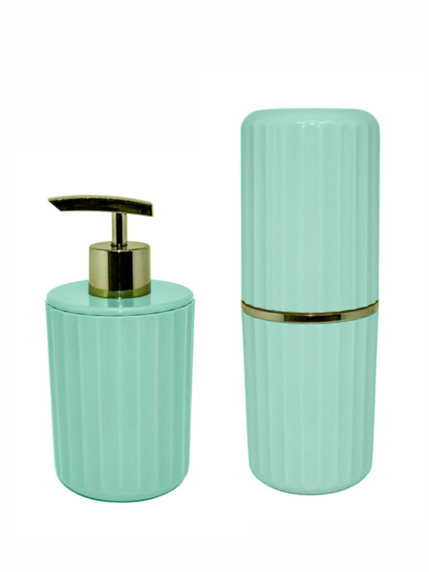 Conjunto para Banheiro 2 peças Verde Menta - OU