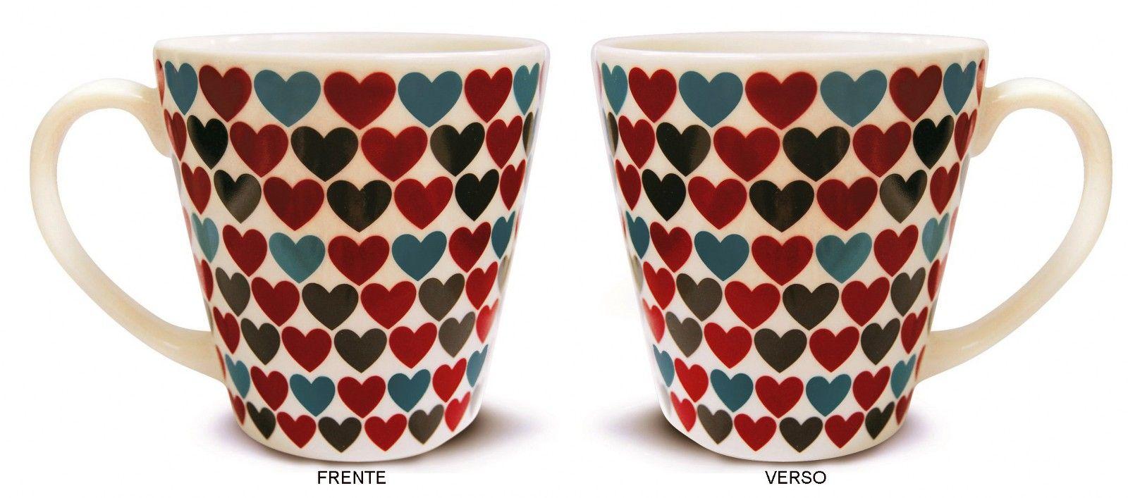 Caneca De Cerâmica Amor Love 405Ml Corona - Yoi