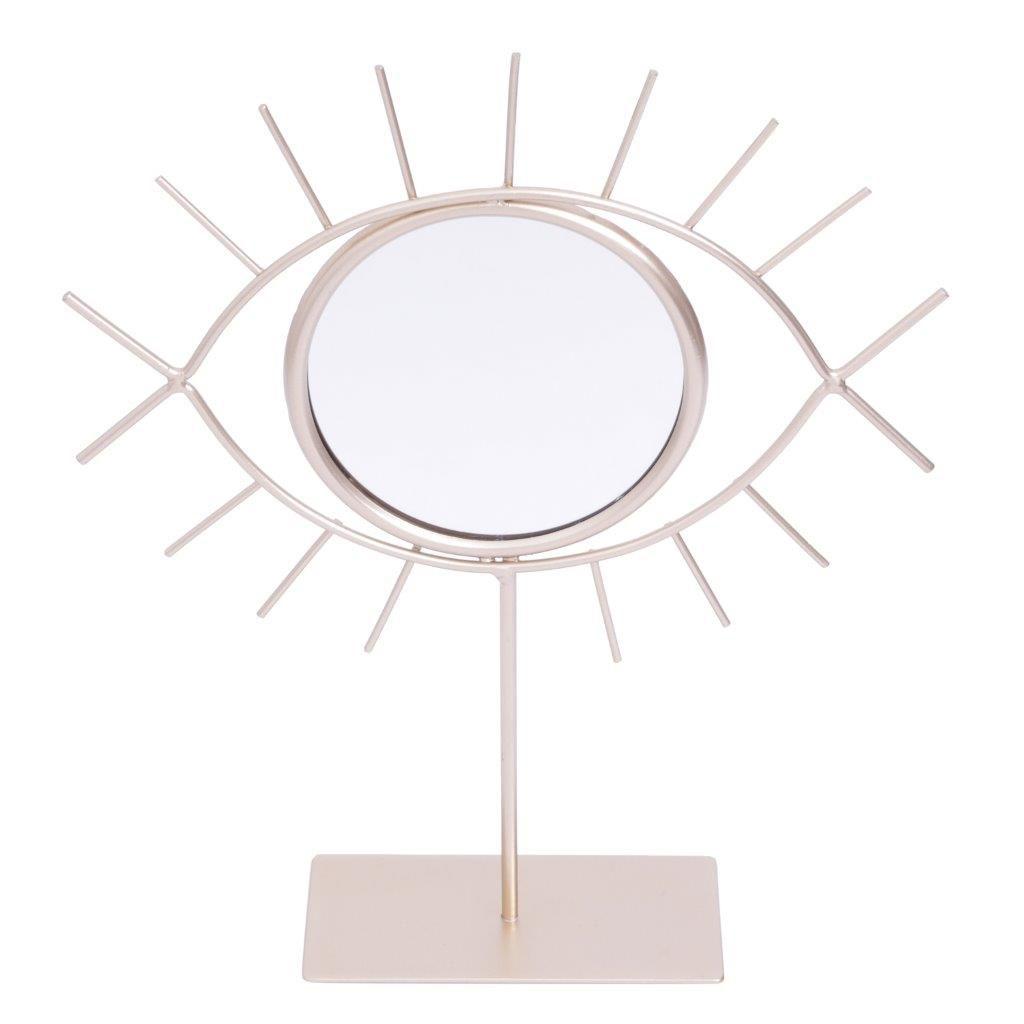 Espelho Mesa Metal Look At Me Dourado - Urban