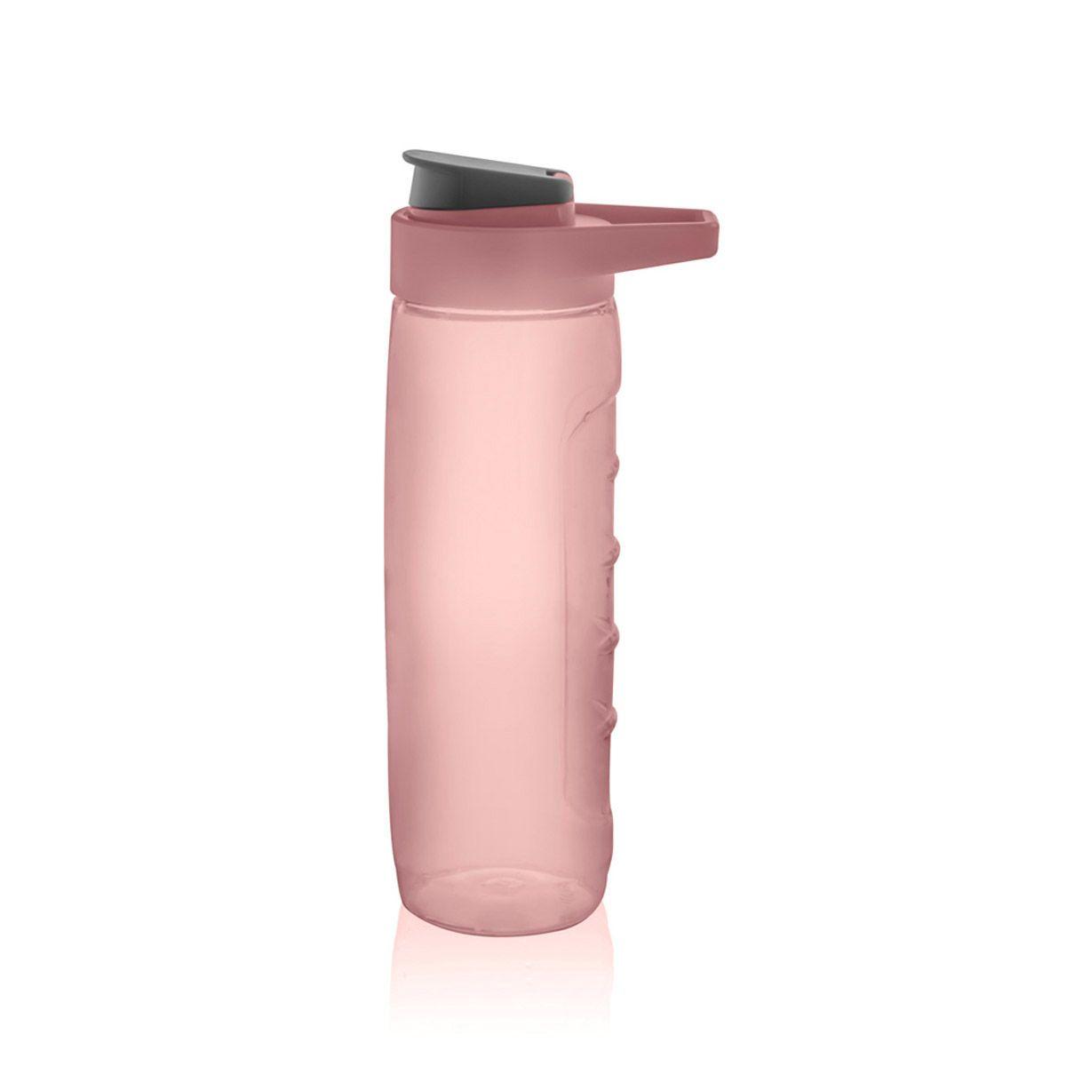 Garrafa Plástica Soft Pro 660Ml Rosa Quartz - Ou