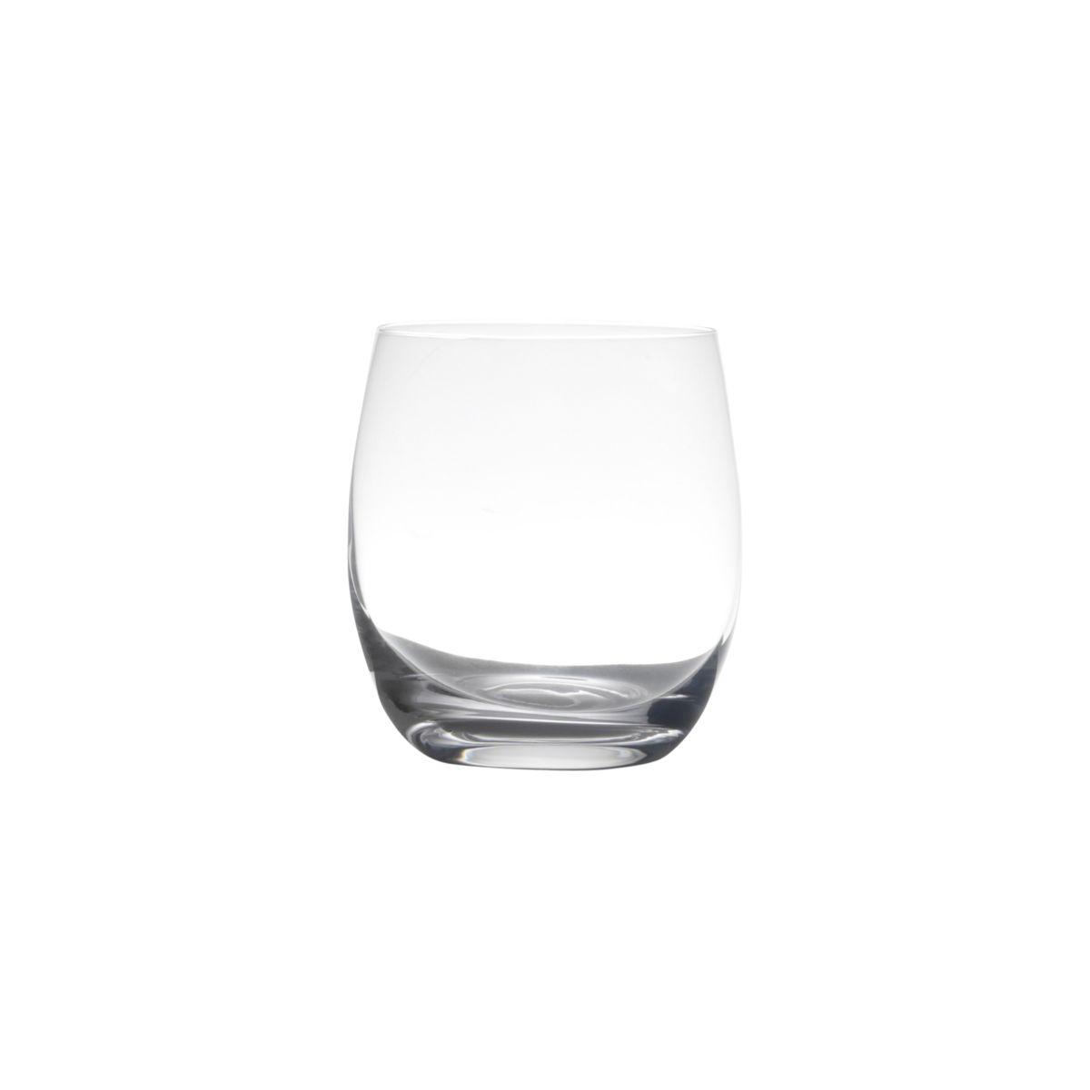 Conjunto 6 Copos Baixos De Cristal Bohemia Pollo/Mergus 410Ml - Rojemac