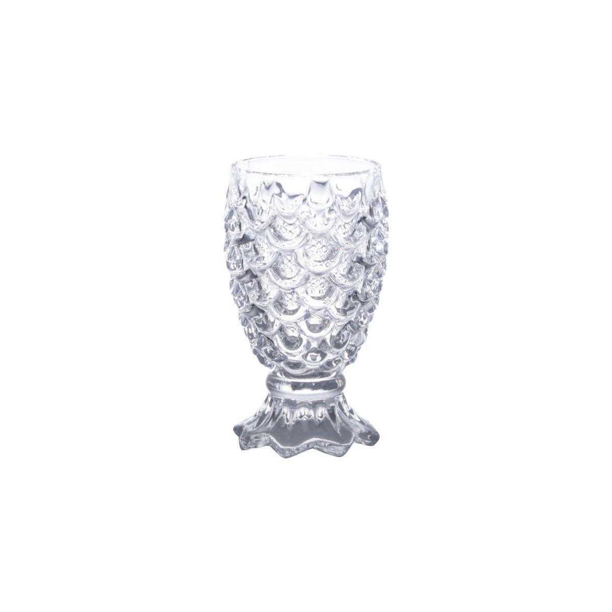 Conjunto 6 Taças Água De Vidro Pineapple 200Ml - Lyor