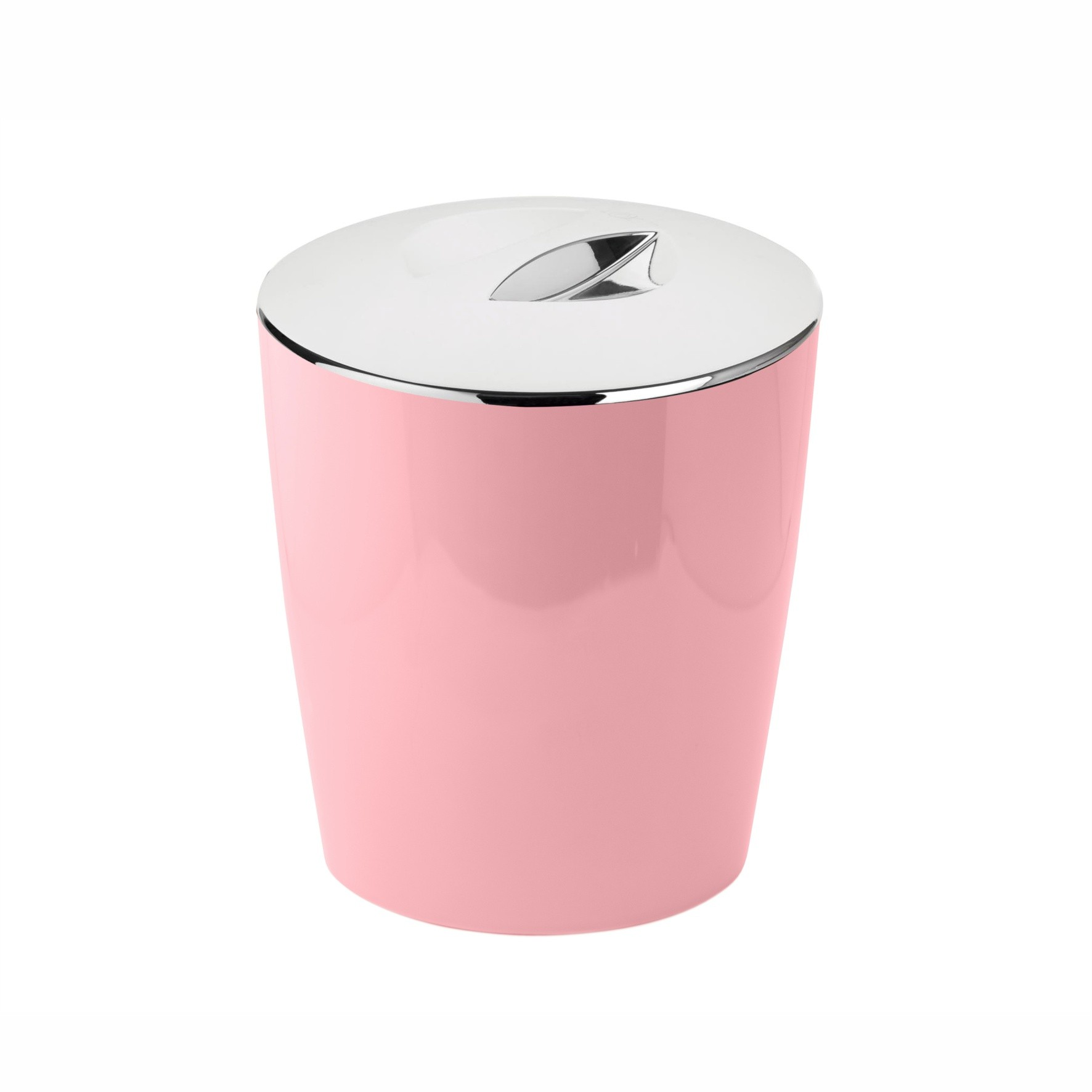 Lixeira 5 lts Cromo Vitra Rosa Quartz - Ou