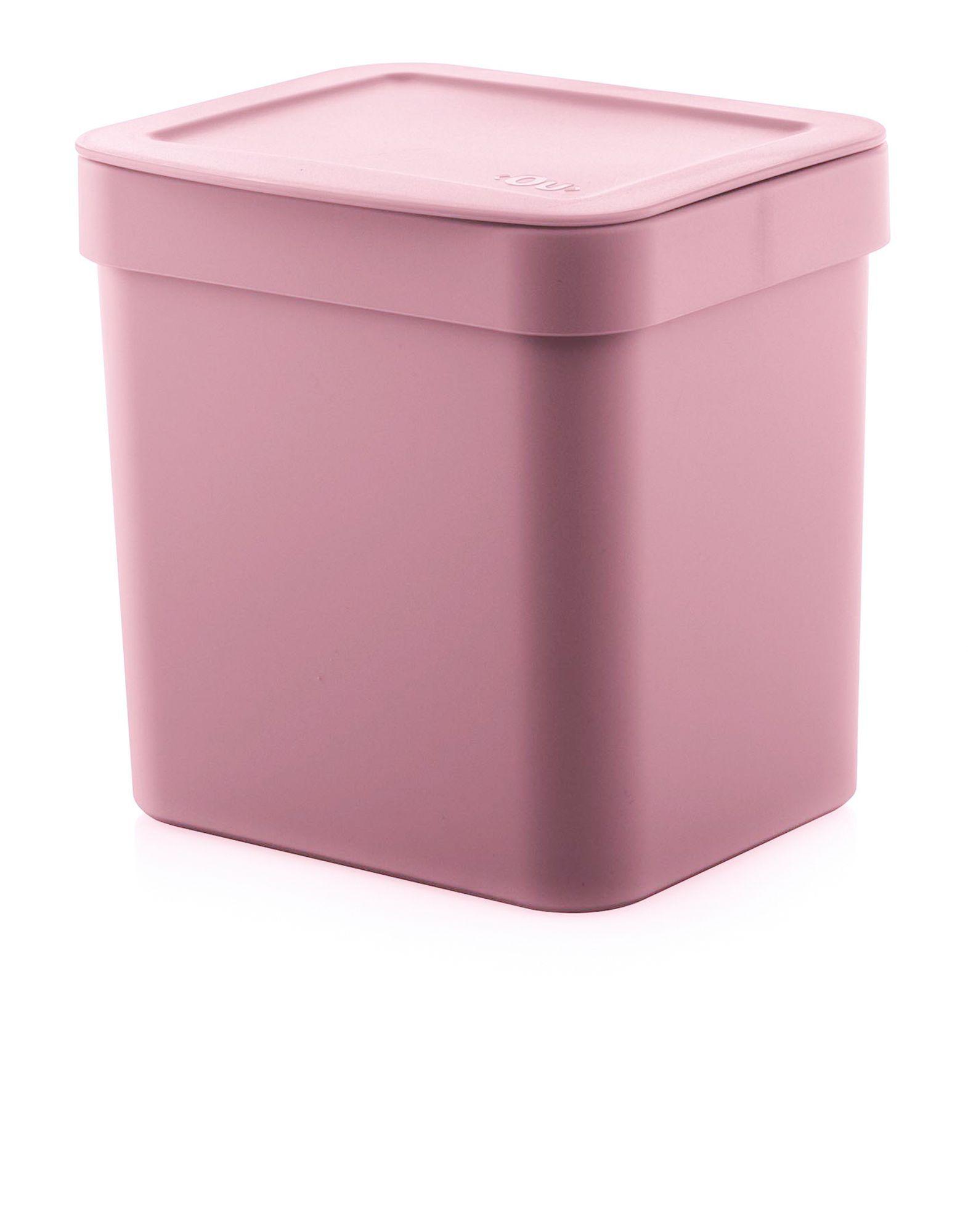 Lixeira Trium 4,7L Rosa Quartz - Ou