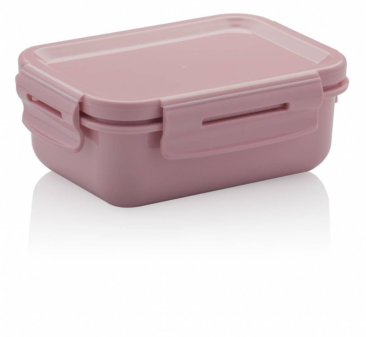 Mini Marmita Hermética Plástico Marmitou Rosa Quartz - Ou