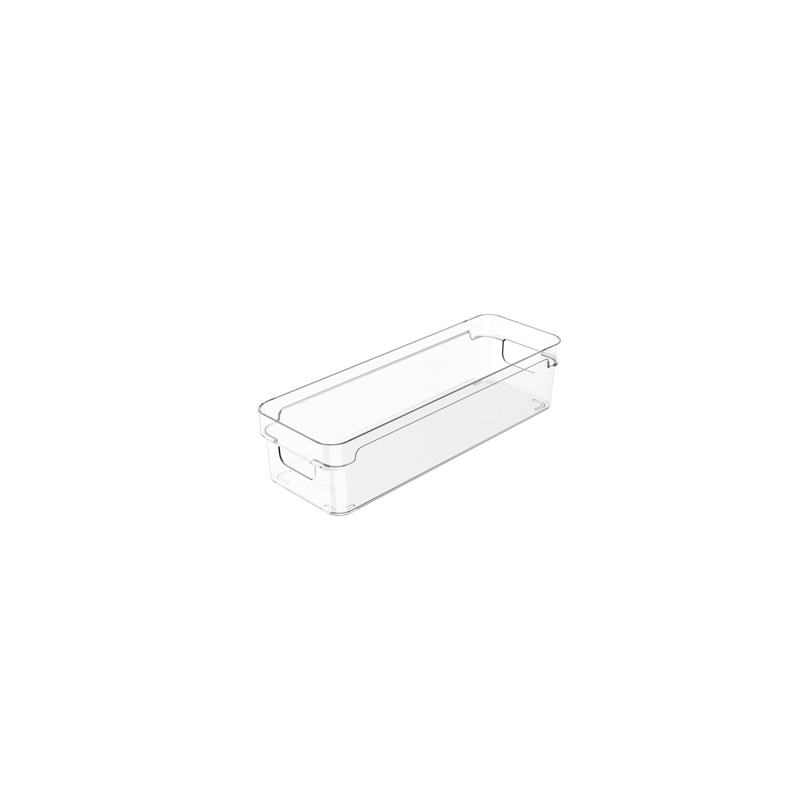 Organizador Clear 30x10x7cm Natural - Ou