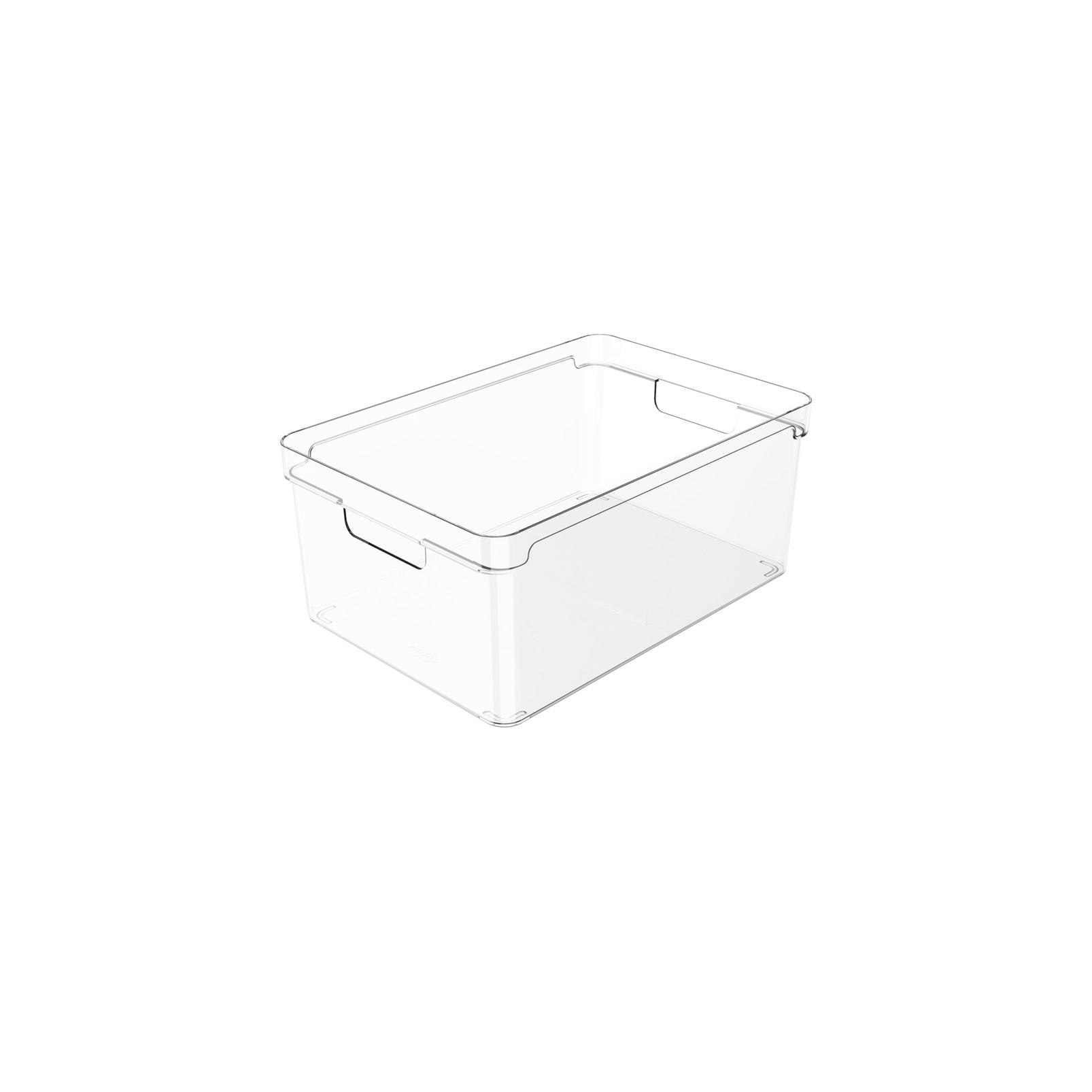 Organizador Clear 30x20x13cm Natural - Ou