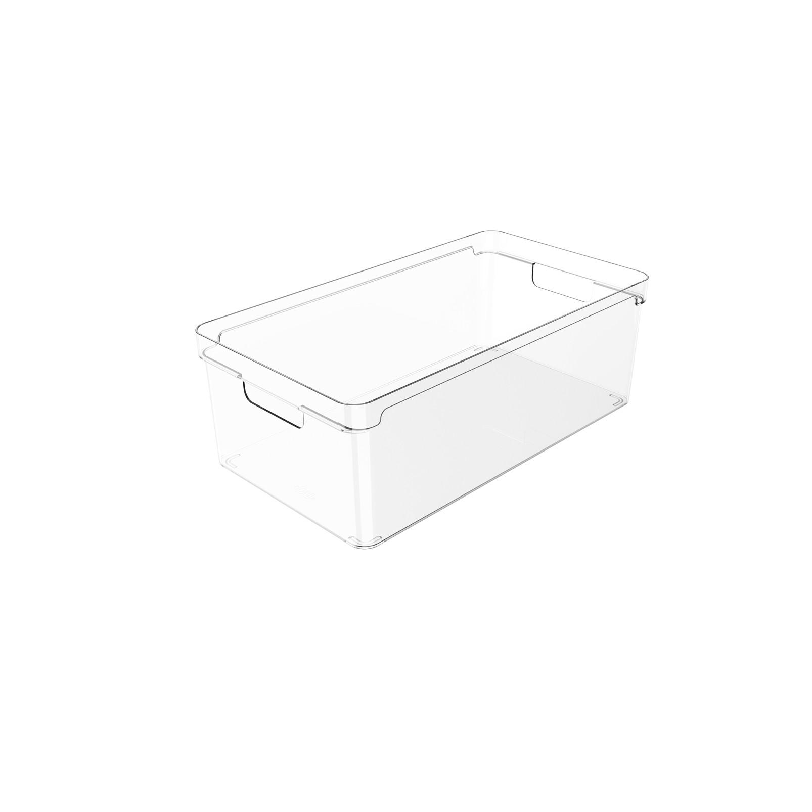 Organizador Clear 37x20x13cm Natural - Ou