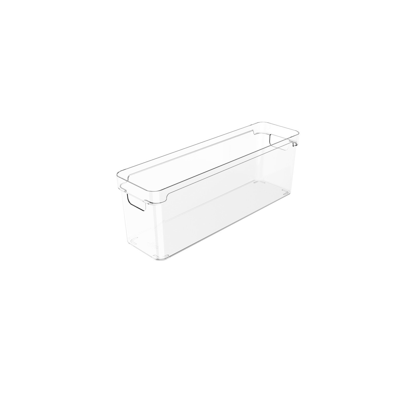 Organizador Clear 37X10X13cm Natural - Ou