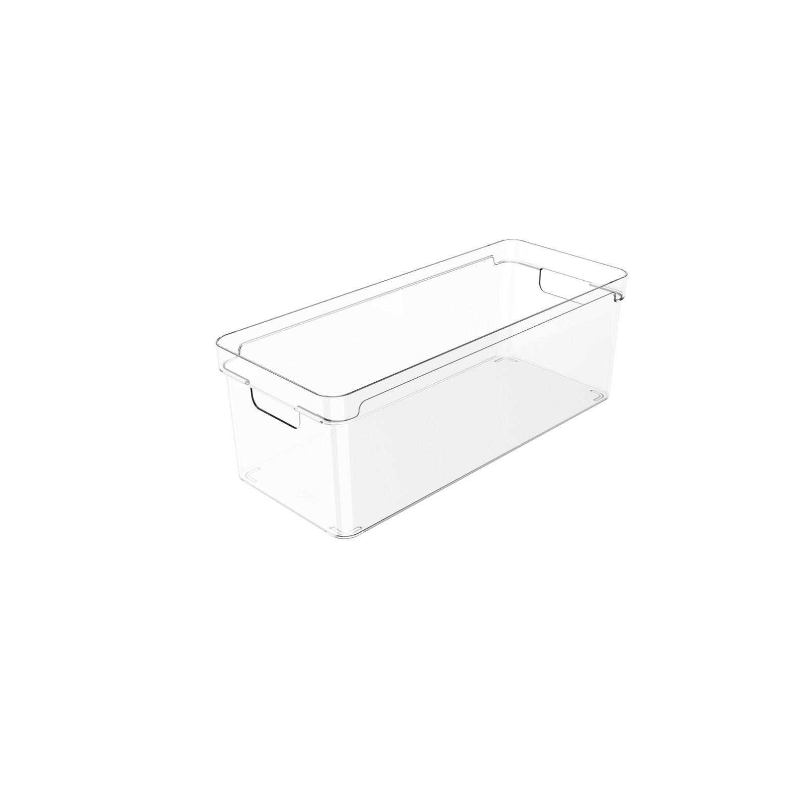 Organizador Clear 37X15X13cm Natural - Ou