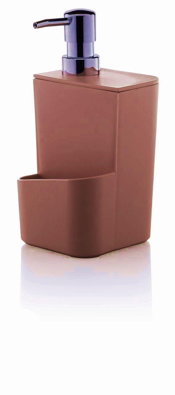 Porta Detergente e Esponja Terracota - Ou