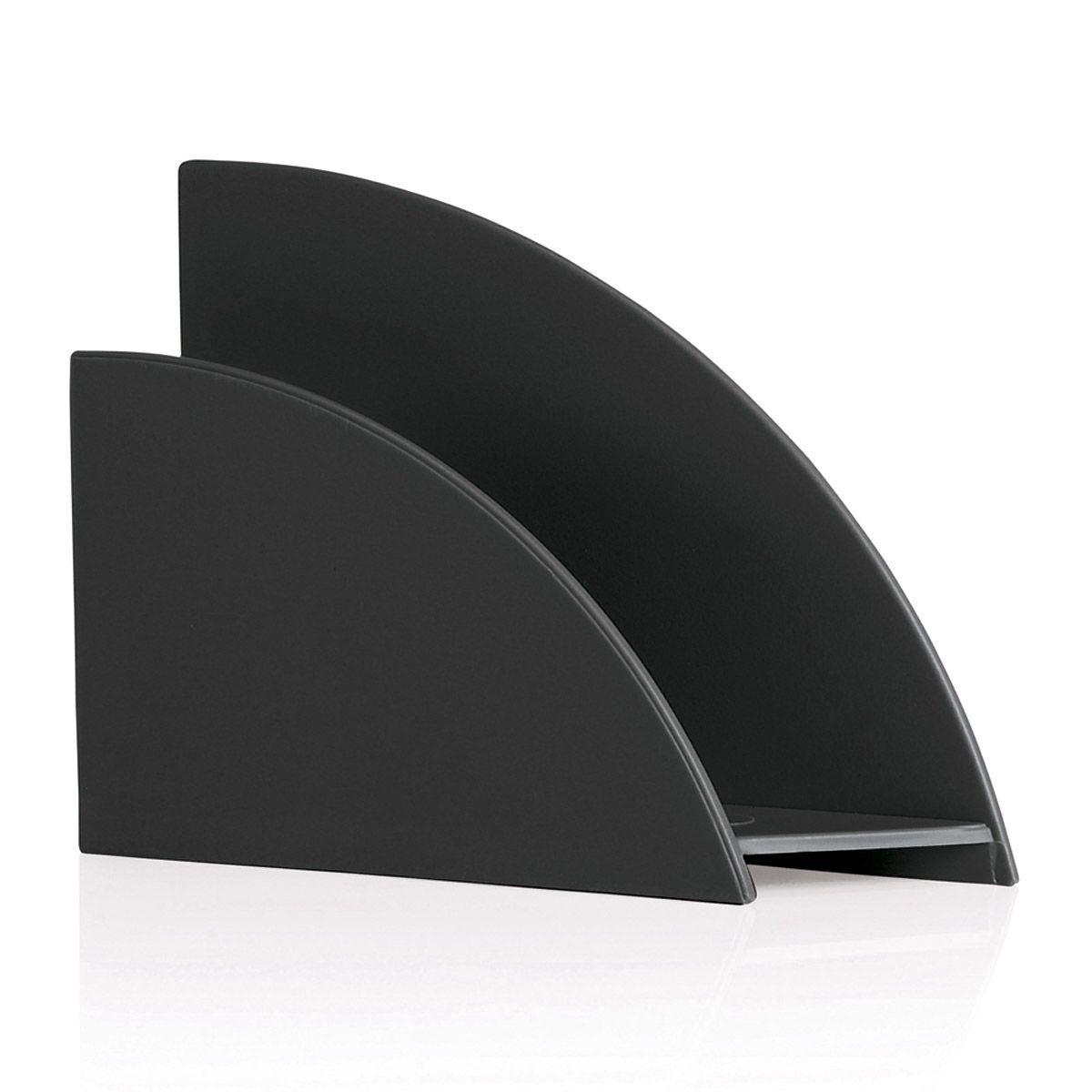Porta Guardanapos Plástico Preto - Ou