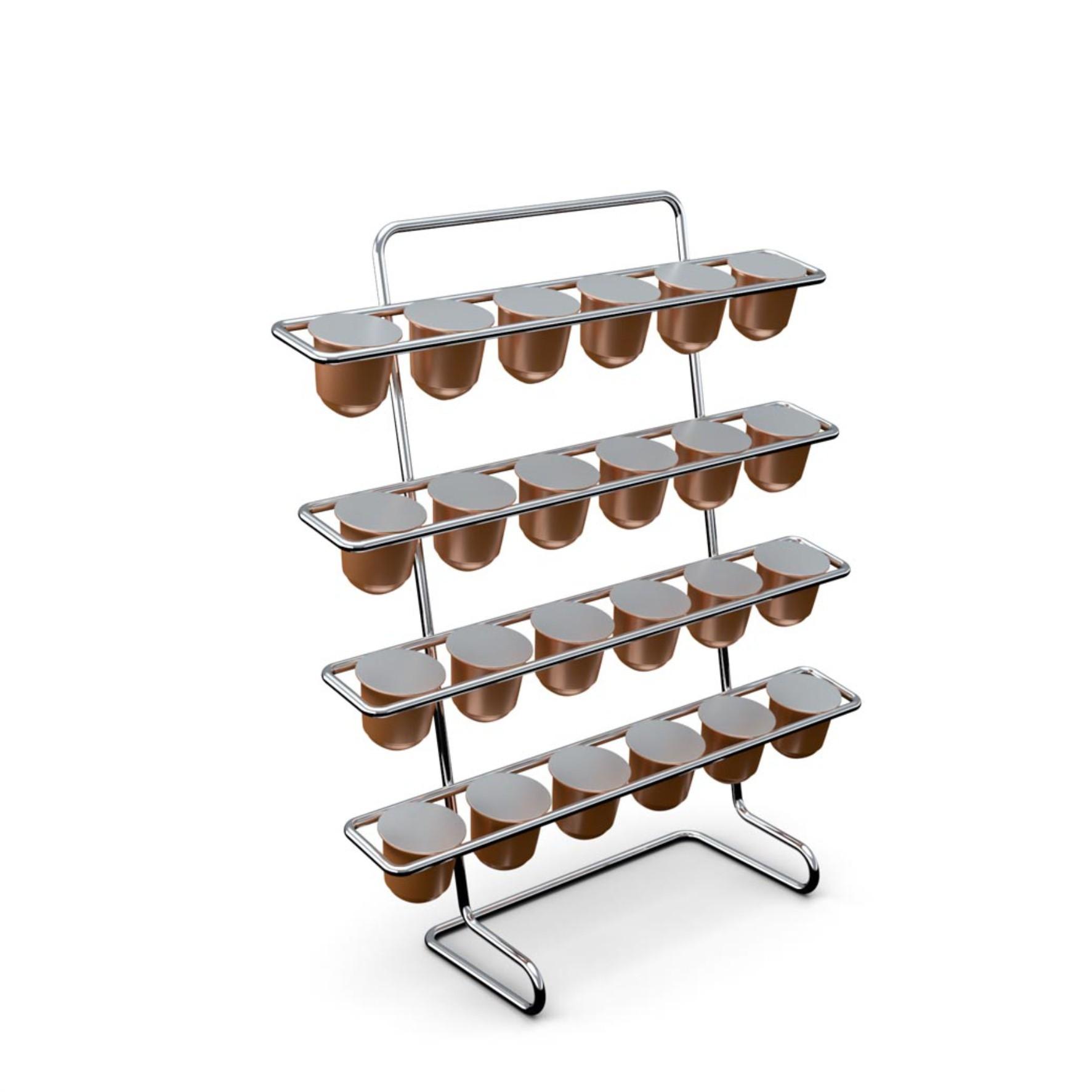 Suporte para 24 Cápsulas Café Nespresso - Stolf