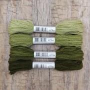 Fio de lã para bordado - Crewel Colors - Série 190 - 24 metros