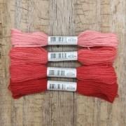 Fio de lã para bordado - Crewel Colors - Série 220 - 24 metros