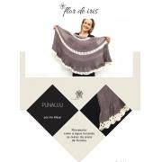 Receita Xale Punaluu - Iris Alessi, em formato PDF