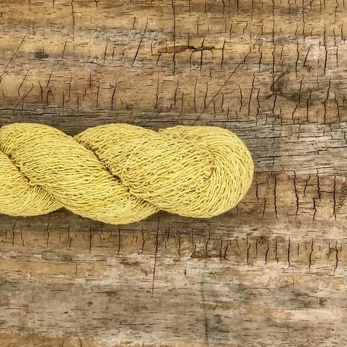 Fio Artesanal de Algodão Orgânico - Fino - 100g