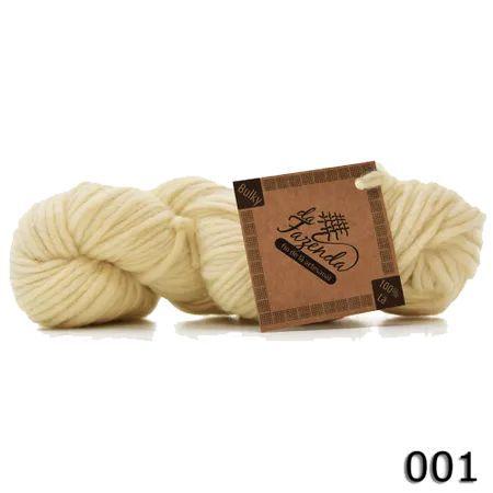 Fio de Lã Corriedale Bulky - Tingimento Natural - 100g
