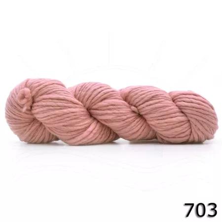 Fio de Lã Merino Chunky - Tingimento Natural - 100g