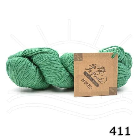 Fio de Lã Merino Sock 4ply - Tingimento Natural - 100g