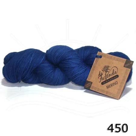 Fio de Lã Merino Sock 4ply - Tingimento Tradicional - 100g