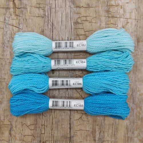Fio de lã para bordado - Crewel Colors - Série 180 - 24 metros
