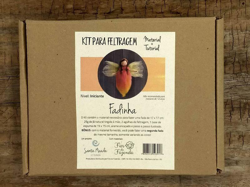 Kit para feltragem - Fadinha