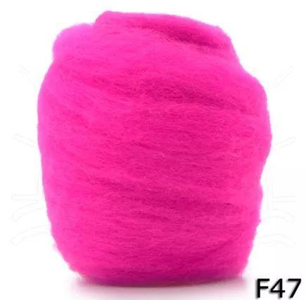 Lã Merino para Feltragem - Cores Avulsas - 25g