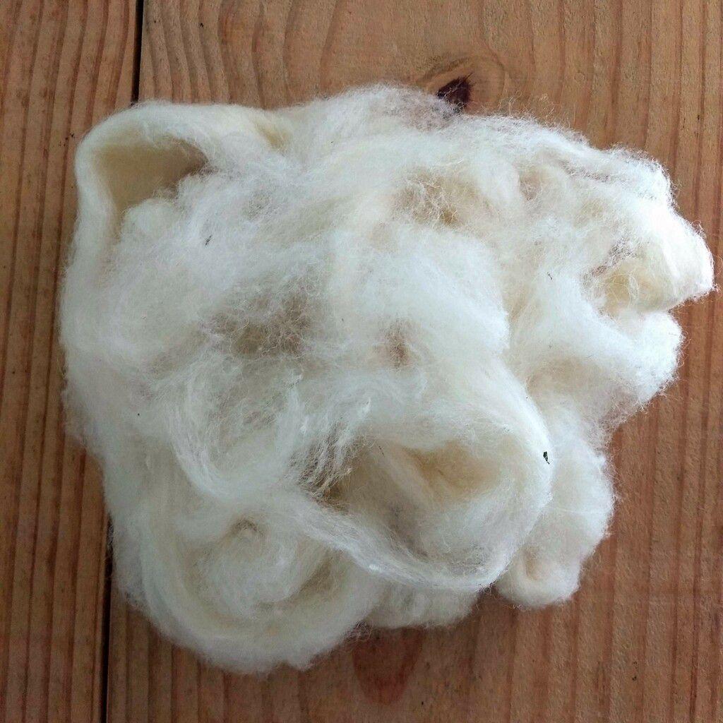 Lã natural para enchimento - 200g