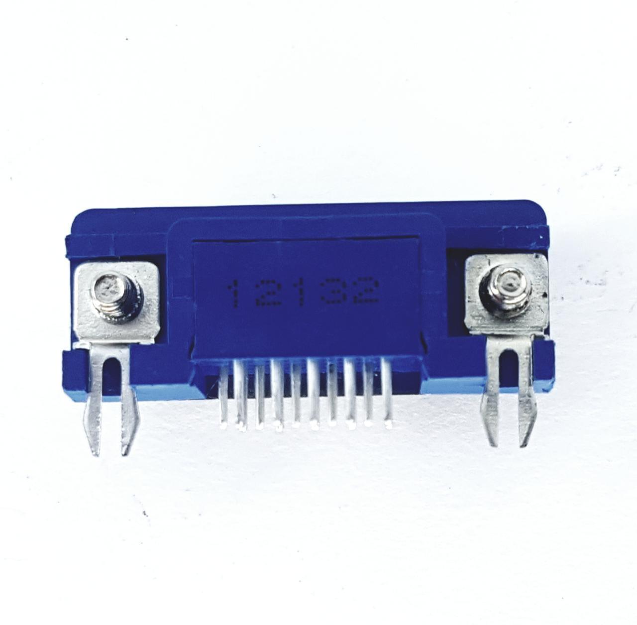 05 peças Conector DB15 Fêmea Solda Placa 3 fileiras