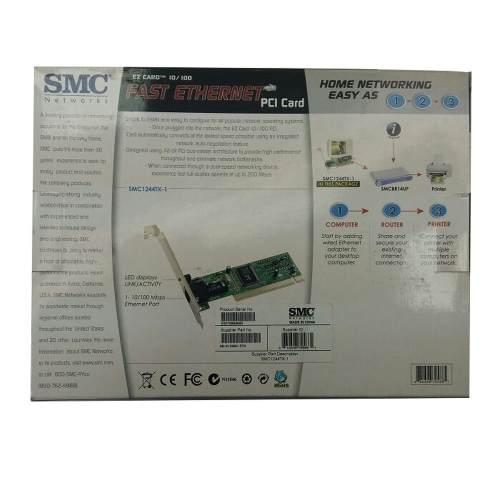 Placa De Rede Pci 10 100 Smc 1244tx