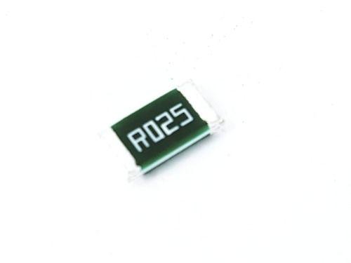 20 Peças Resistor Smd 1wt R025 0,025 Ohms 1% 2512