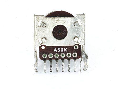 Potenciômetro Giratório Rotativo A50k 50k Rg8169
