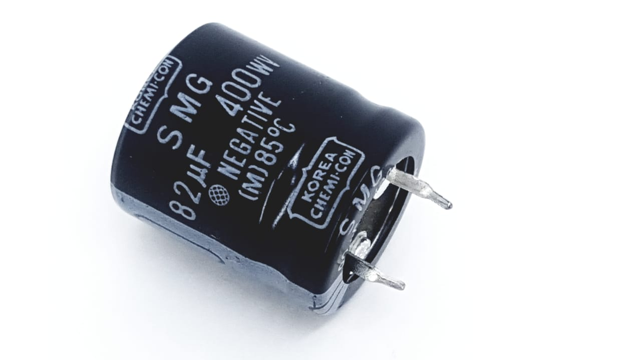 10 peças Capacitor Eletrolítico SNAP-IN 82 400 WN 85°C 2 terminais