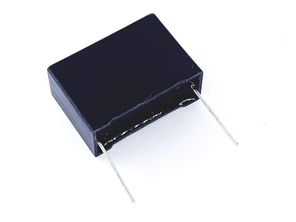 10 Peças Capacitor Poliéster X2 1uf 275v 250v de Terminal Curto