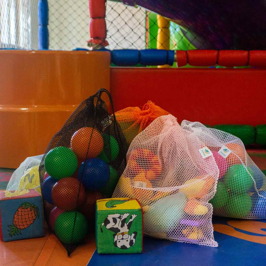 10 Saquinhos BRANCOS organizadores reutilizáveis para organizar utensílios e brinquedos resistente FM1