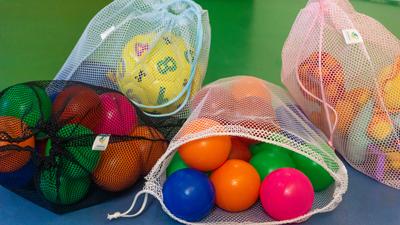 10 Saquinhos organizadores reutilizáveis para utensílios, brinquedos, acessórios  cor PRETO FM4