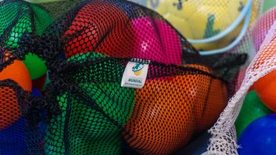 10 Saquinhos organizadores reutilizáveis para utensílios, brinquedos e acessórios resistente cor ROSA FM1