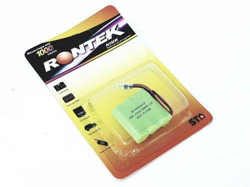 Bateria Telefone Câmera 2/3 Aaa 3.6v 300 Mah Recarregável
