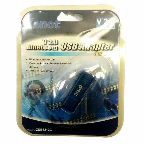 Adaptador Bluetooth Usb Celular Notebook Pc 3mbps Zub6212c