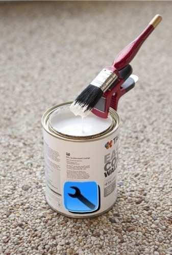 Suporte Prendedor Pincel Artesanato Pintura Magnético