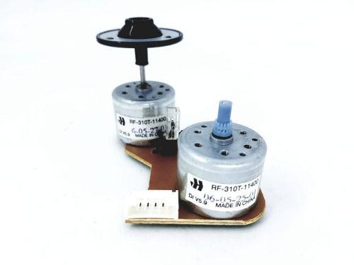 2 Motores 5.9v Rf-301t-11400 Com Eixo Robótica Eletrônico
