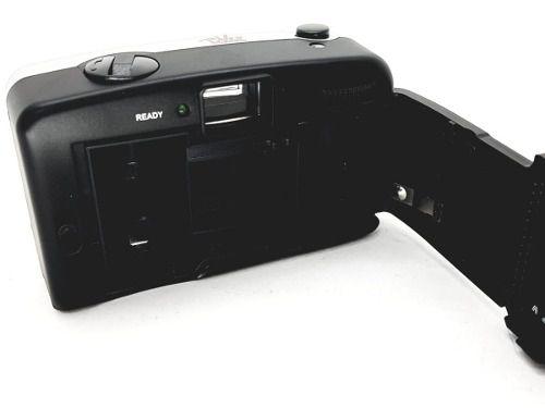 Câmera Fotográfica Manual Vivitar Ez Cinza Retrô Nova Capa