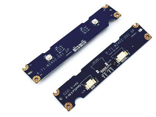 Placa Botões Infoway A7520 Touchpad 6-71-w2402-d01 Itautec