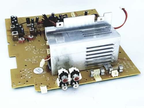 Placa Principal Dvd Montada Toshiba Mc 667mu Nova