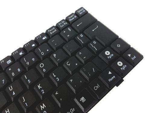 Teclado Para Notebook Asus Eee Pc V021562lk4 Novo