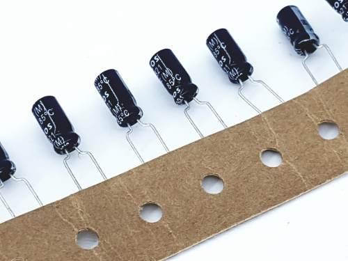 100 Peças Capacitor Eletrolitico 33uf X 35 V Epcos B41821