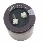 1 peça Capacitor Eletrolítico 330 Uf x 450 V 105 Graus Niponn Chemicon 105° GL (M)